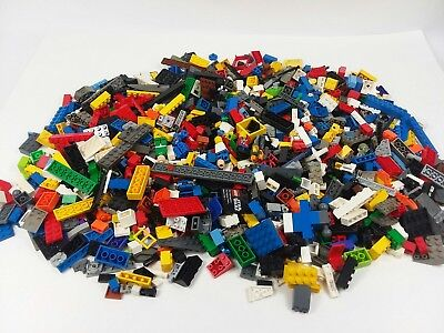 3 Lb Bulk Lot Loose Lego MIX Bricks - Pieces - Parts-Black-Mini Figs