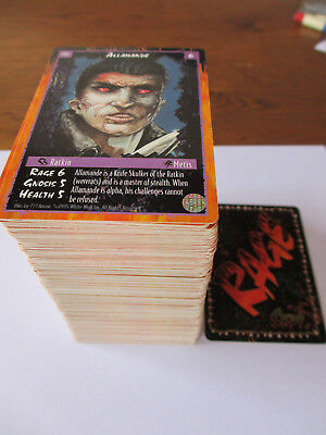 Rage CCG Limited Version - all 308 different cards NO chase werewolf apocalypse