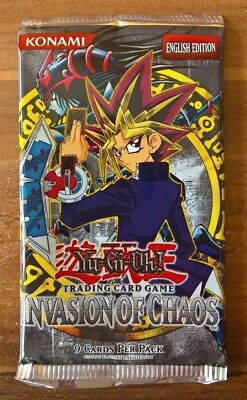 Yugioh! Invasion of Chaos Booster Pack * english * unlimited *