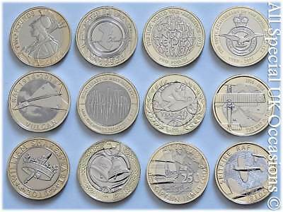Royal Mint Brilliant Uncirculated £2 Two Pound Coin 2015 - 2019 Choose Your Coin