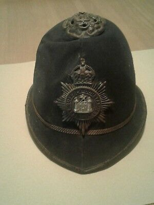 Authentic English Biobby Hat -West Suffolk Constabulary , by Christy's  London