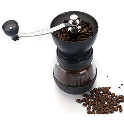 Manual Grinders Coffee With Conical Ceramic Burr - Because Hand Ground Beans To