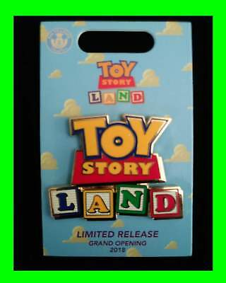 BoxLunch Toy Story Land Exclusive Limited Release Enamel Pin 2018
