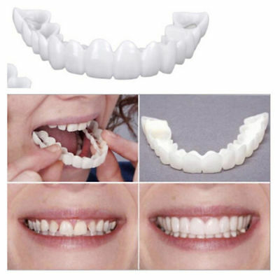 Cosmetic Dentistry Snap On Instant Perfect Smile Comfort Fit Flex Teeth Veneers
