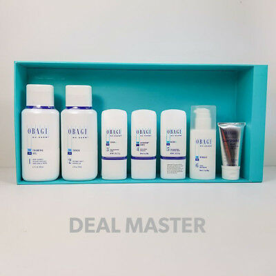 Obagi Nu Derm Normal to oily Kit System 7 Pc With Matte SPF 50 1 Oz New/ Fresh
