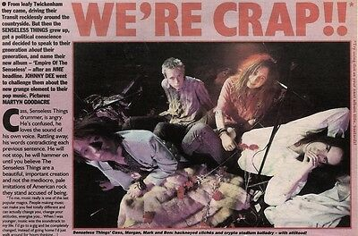 13/3/93Pgn26 Article & Pictures : Senseless Things
