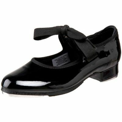 Dance Shoes Tyette Tap Many Brands & SIZES 7 Toddler to 13.5 Child Black Patent