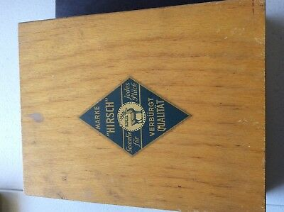 Vintage set of marke hirsch f.w.b. Heavy duty chisel and carving set