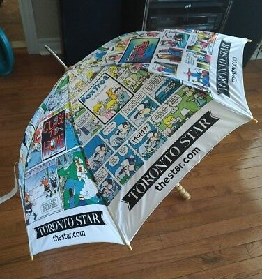 The Toronto Star Comic Strip Umbrella Ziggy, Peanuts, Dilbert, Foxtriot