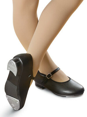 Dance Tap Shoes Black Mary Jane LOTS of SIZES 7 Toddler to 9.5 Adult MANY BRANDS
