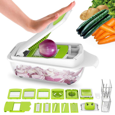 Multifunctional Vegetable Chopper Dicer Slicer Cutter Manual/Vegetable Grater US