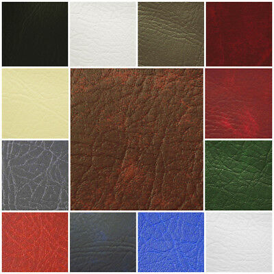 Fire Retardant Vinyl Leatherette Leather Look Faux Fabric 145cm