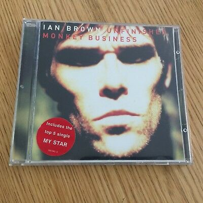 Ian Brown – Unfinished Monkey Business CD Album (1998)