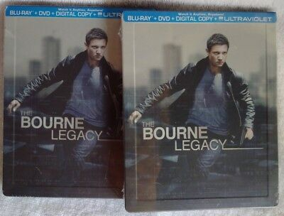 The Bourne Legacy (2012) STEELBOOK (BluRay/DVD) LOWEST PRICE, FREE SHIPPING, NEW