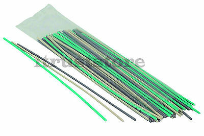 50 Pc Green Pp White Abs Gray Pvc Plastic Welding Rods Sticks For Plastic Welder