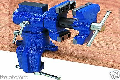 Gunsmithing Locksmith Blacksmith Table Swivel Vise Vice Metal Wood