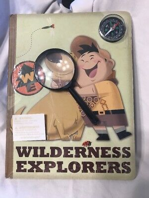 RARE Disney Pixar Up! Journal Wilderness Explorer Notebook Brand New In Package