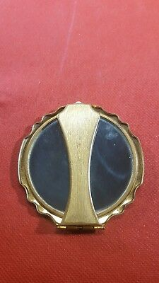 Vintage Fold Out Mirror Compact made in England