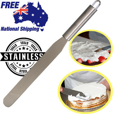 Butter Cake Cream Spatula Smoother Icing Spreader Fondant Pastry Luxury Stainles