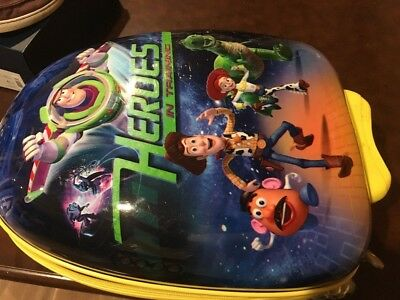5349ba6e2cf9 Heys Toy Story Luggage Disney Rolling Wheels Hard Suitcase For Kids Buzz  Woody
