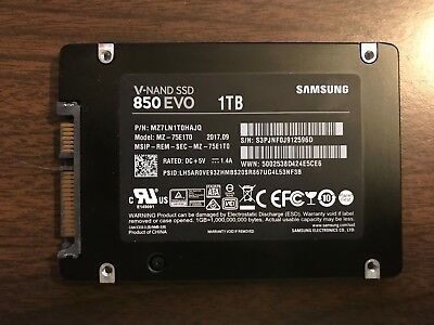 Samsung 850 EVO 1TB 2.5-Inch SATA III Internal SSD MZ-75E1T0 +2.5 to 3.5 adapter