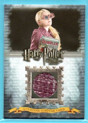 Harry Potter and the Half-Blood Prince LUNA LOVEGOOD #/490 COSTUME RELIC