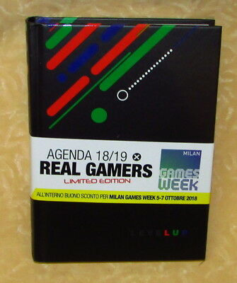 DIARIO AGENDA DATATO 2019 LIMITED EDITION PER REAL GAMERS  13x18cm cod.20795