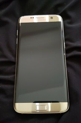 Samsung Galaxy S7 Edge AT&T Pre-owned gold 32 GB  cracked along edge
