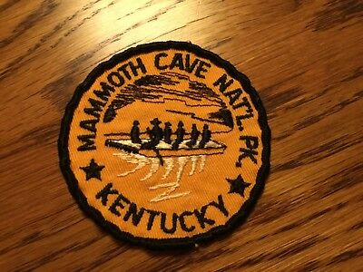 Vintage MAMMOTH CAVE NATIONAL PARK Kentucky Patch