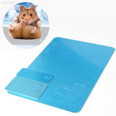 D03E Pet 1PCS Radiating Plate Ice Bed Mat Cold Cooling Ice Pad