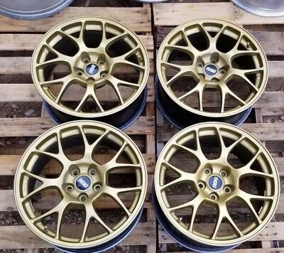 2008 2015 Mitsubishi Lancer Evo X Mr Bbs Wheels Rims 18 5x114 Oem