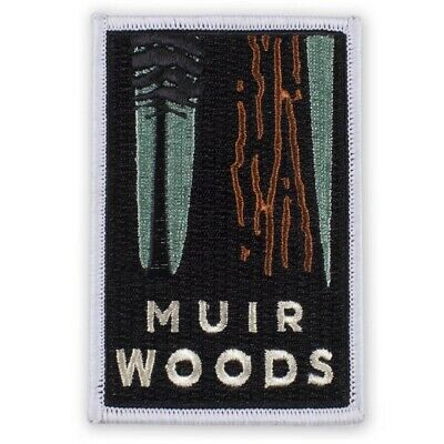 Muir Woods Patch (Iron on) - Official Golden Gate National Parks, Redwoods