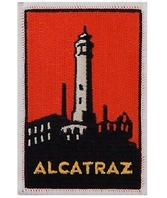 Alcatraz Patch (Iron on) - Official Golden Gate National Parks Conservancy, SF