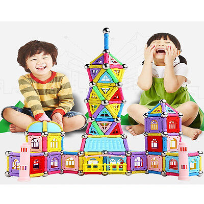 103Pcs Educational Creative Magnetic Sticks Building Blocks Toys Superb Gift Kid