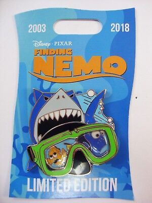 DISNEY Pin 2018 FINDING NEMO 15th Anniversary MARLIN and DORY