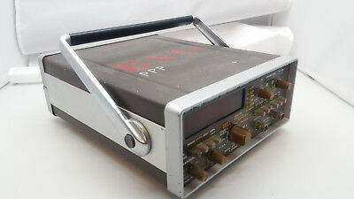Philips PM 6671 High Resolution Timer / Frequency Counter 120 MHz WORKS