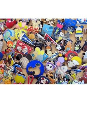 Disney Trading Pins 25 Lot No Doubles Hidden Mickey Limited Edition Free Ship