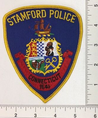 Stamford Connecticut Police Patch