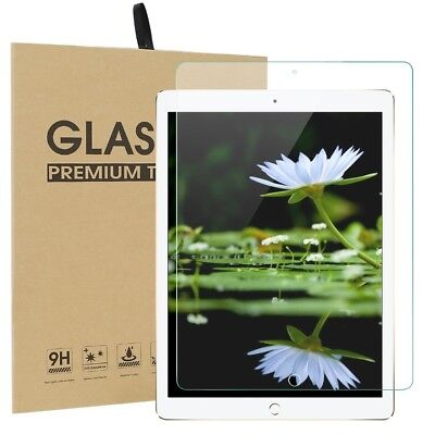 US Premium 9H HD Clear Tempered Glass Screen Protector For iPad 9.7 2018 6th Gen