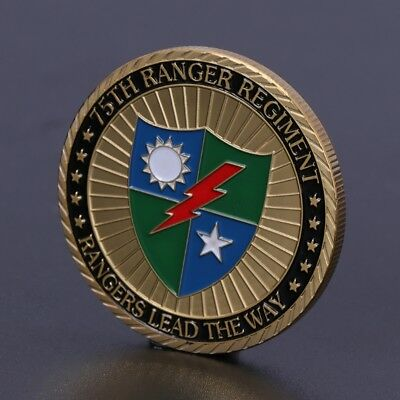 75th Ranger Regiment US Army Commemorative Coin Collection Arts Gifts Souvenir