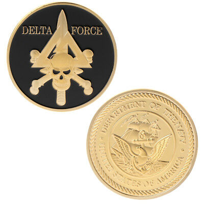Delta Force American Army Team Commemorative Coin Collection Arts Gifts Souvenir