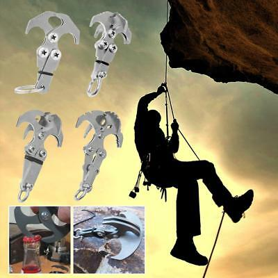 Grappling Hook Survival Folding Gravity Claw Climbing Carabiner Outdoor Tool Kit