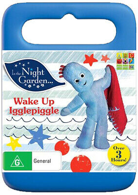 In The Night Garden - Wake Up Igglepiggle (DVD, 2015, R4) ABC Kids NEW & SEALED