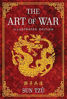 The Art of War: Illustrated Edition by Sun Tzu 1454911867 Strategy Hardcover NEW