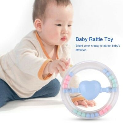 Baby Musical Teether Rattle Toy Newborn Infant Teething Toys Gift BPA Free SP