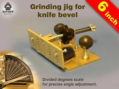 Adjustable bevel grinding jig for belt grinder Аngle bevel jig ,knife sharpener