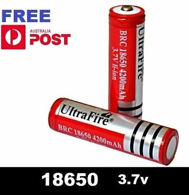 Ultrafire BRC 18650 Rechargeable 3.7v Li-Ion Lithium Battery  batteries +20pk
