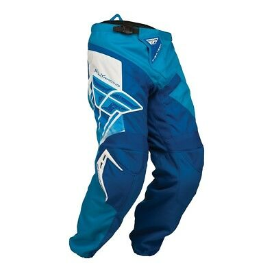 Fly Racing Mx Gear 2015 F-16 Blue Youth BMX Motocross Dirt Bike Kids Pants