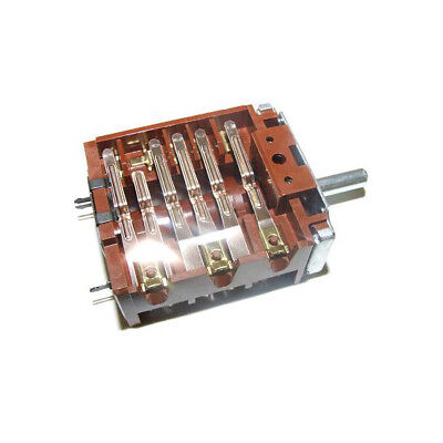 Ego Oven Rotary 7 Position Switch 16A 240V 46.27266.500 Ef46.27266.500 Se181