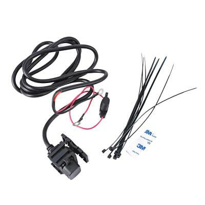 Waterproof Motorcycle 12V SAE to USB Phone GPS Charger Cable Adapter Inline Fuse